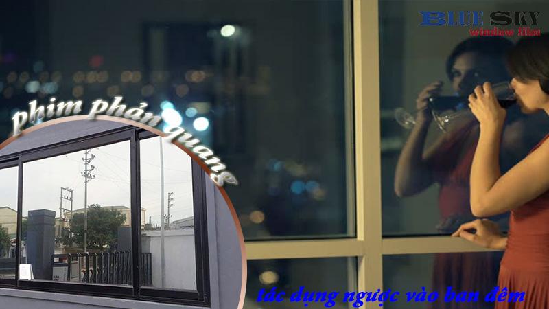 Hiện tượng bóng gương vào ban đêm