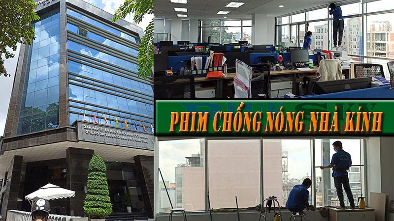 Dán kính chống nóng văn phòng tại TP.HCM